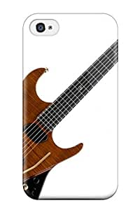 Awesome OjztASJ4345zpzxx Bruce Lewis Smith Defender Tpu Hard Case Cover For Iphone 4/4s- Guitar On Light