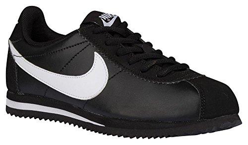 Bambino Nero Cortez Corsa GS Nike Scarpe bianco da FwTvXq