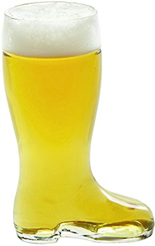 - Stolzle Bierstiefel One Liter Glass Beer Boot