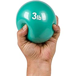 Trademark Innovations Weighted Exercise Toning Ball - Set of 2 - By (3Lbs.)