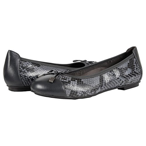 Vionic Snake Shoes Leather Grey Minna Womens 359 rwxBqnrY