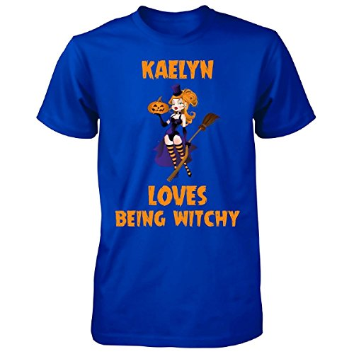 Kaelyn Loves Being Witchy Halloween Gift - Punk