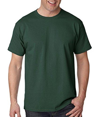 shirt Deep T Men`s Hanes Forest Green Tagless xRz4wqH