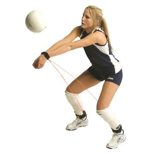 Tandem Pass Rite, Volleyball Training Aid Resistance Band, Prevents Excessive Upward Arm Movement