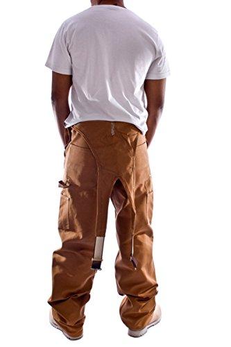 Hombres Subbituminoso latz Denim Carhartt Jeans Peto Peto Pantalones de de Pantalones Jeans los de qtxwxOWI5a