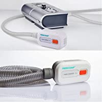 Huapa CPAP Equipment and Mask Cleaner/Disinfector, with Recharge Battery, Suit for CPAP Machine Mask Hose Pipe Tube…