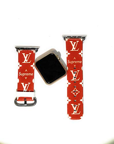 - Street Fashion Replacement Band for Apple comparable Series 4 3 2 Size 42mm/44mm