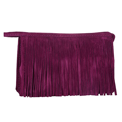 (Fashion Tassel Portable Cosmetic Bag AfterSo (Purple))