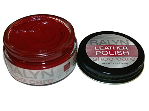 UPC 651334106328, Made in USA RALYN Shoe Care Leather Polish Many Colors available. (Red #11)
