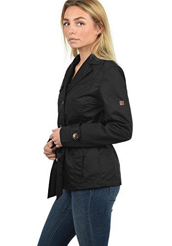 Con Black Desires Coat Giacca Cintura Da Trixie Collo Revers Transitorio nbsp; 9000 Donna Trench HFH7aS0q