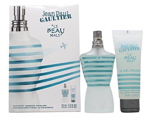 Coffret Jean Paul Gaultier (Jean Paul Gaultier Le Beau Male Coffret: EDT Spray 75ml/2.5oz + Shower Gel 75ml/2.5oz 2pcs by Jean Paul Gaultier)