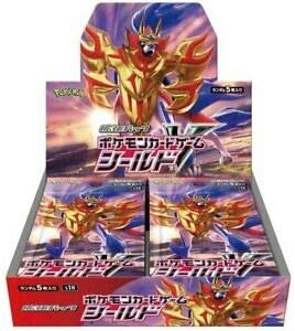 Pokemon Card Sword & Shield - Expansion Pack Shield Booster Box ...