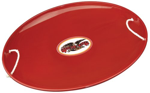 Flexible Flyer Steel Saucer (Flyer Red Sled)