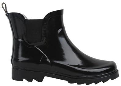"Amazon.com | SunVille Women's Ankle High (6"" Shaft Height) Rain ..."