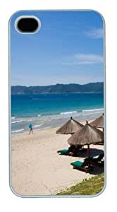 Hainan blue12 PC Case Cover for iPhone 4 and iPhone 4S White Thanksgiving Day gift by Maris's Diary
