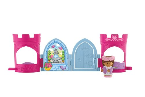 Fisher-Price Little People Maid Marian Pop Open Castle