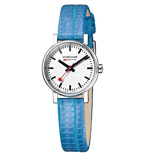 mondaine-a6583030111sbd-evo-petite-white-dial-blue-leather-womens-watch
