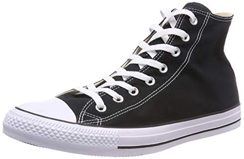 Adulte 015860 Hautes Noir Mixte Baskets Converse Xgd7WW