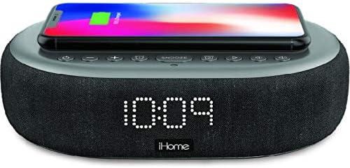 iHome TIMEBOOST Bluetooth Wireless Alarm Clock