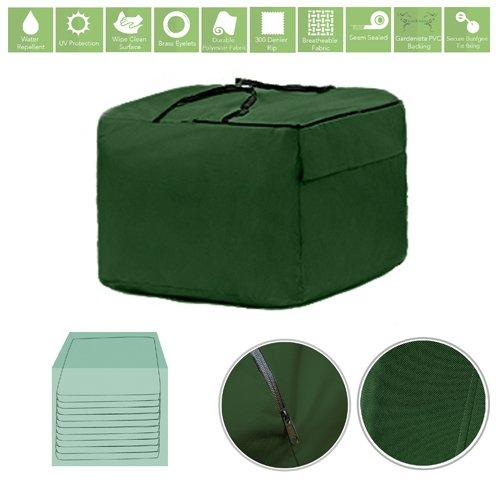 Green Water Resistant Garden Accessories Cover Protector Medium Storage Bag Gardenista