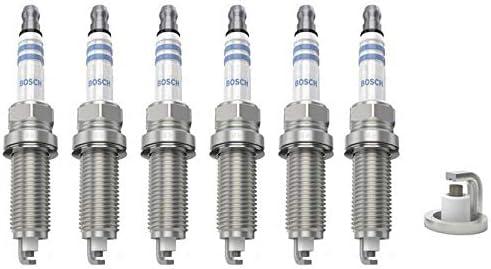 6 x Bujía Bosch 0242129510 - bo0242129510 X 032 - Original un ...