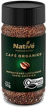 Café Orgânico Solúvel Liofilizado Native 50g