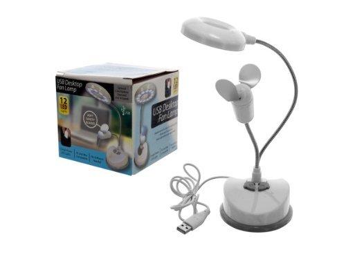 usb desk top fan lamp - 8