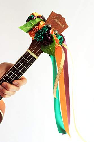 - ukuhappy handmade ukulele lei for Mardi Gras