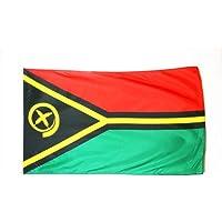 Vanuatu Flag 3' x 5' - Vanuatu Flags 90 x 150 cm - Banner 3x5 ft - AZ FLAG
