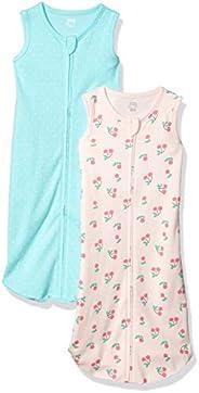 Amazon Essentials Girls 2-Pack Cotton Baby Sleep Sack