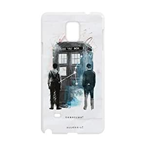 Happy Doctor Who Fahionable And Popular Back Case Cover For Samsung Galaxy Note4
