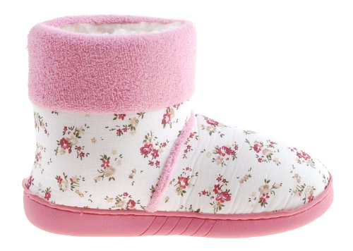 Colorfulworldstore Girls&ladies Winter Warm Mid-calf Snow Boots Shoes-Home boots-2colors Pink Mix zcLvo2VMsQ