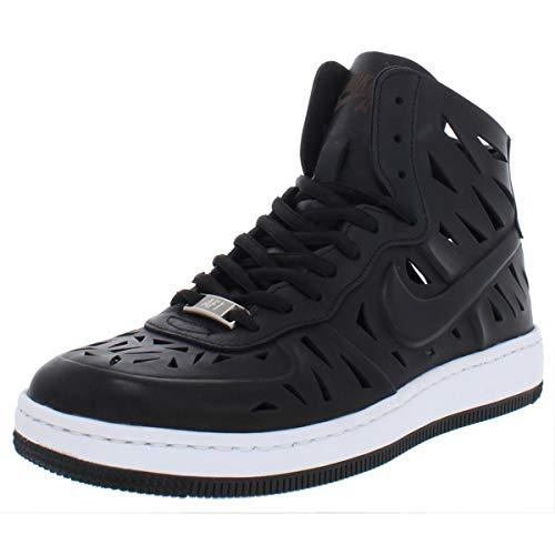 Nike Womens AF1 Ultra Force Mid Joli Fashion Sneakers Black 7.5 Medium (B,M)