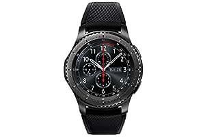 "Samsung S3 Frontier - Smartwatch Tizen (pantalla 1.3"" Super AMOLED 360x360, GPS integrado, batería 380 mAh, altavoz integrado), color Gris (Space Gray)"