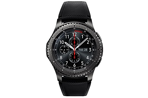 "Samsung S3 Frontier - Smartwatch Tizen (pantalla 1.3"" Super AMOLED 360x360, GPS integrado, batería 380 mAh, altavoz integrado), color Gris (Space Gray): Samsung"
