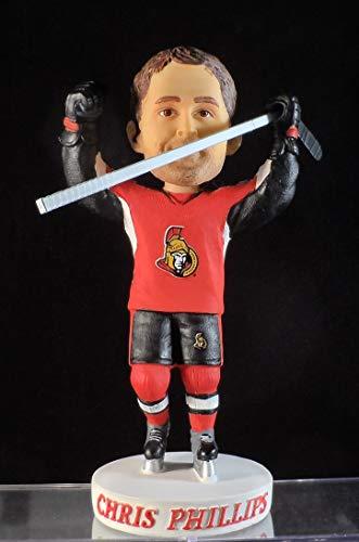 (2015 Chris Phillips Ottawa Senators Stadium Giveaway Bobblehead Figure)