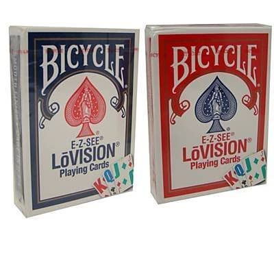 Bicycle Lo-Vision Special Playing Cards - 2 Decks: Sports & Outdoors