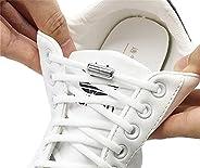 Elastic No Tie Shoelaces Semicircle Shoe Laces Metal Lock Laces Shoe Strings