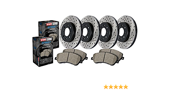 StopTech 935.62070 Street Axle Pack