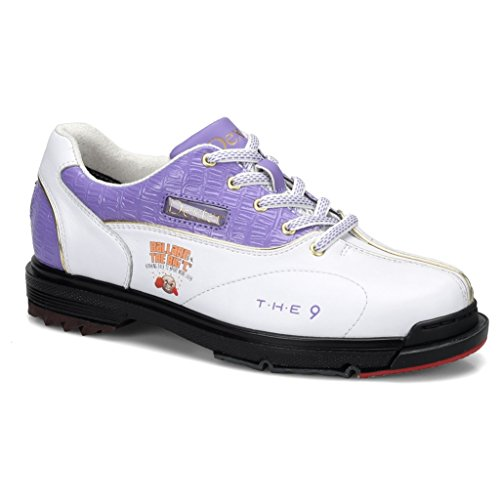 Dexter Womens SST The 9 Bowling Shoes- Carolyn Dorin Ballard Limited Edition White/Purple, 7