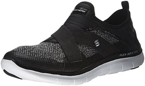 Skechers Ladies Flex Appeal 2.0 Nuova Immagine Low-top Nero / Bianco (bkw)