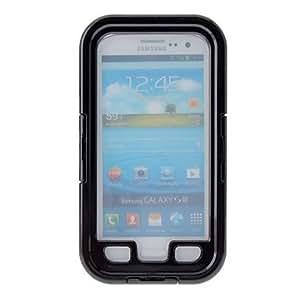 CECT STOCK Choque de tierra impermeable Funda protectora prueba de la alta calidad para Samsung Galaxy S3 I9300 , Negro