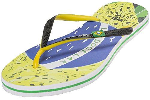Samba Sol Latin America Collection Flip Flops - Fashionable and Comfortable. Trendy and Classic Sandals in Womens, Mens, and Kids.
