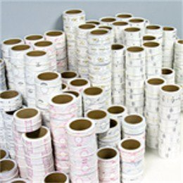 5 Pack - LongShot Impact Label Overrun - Factory Second Rolls - All Over-Sized Iron Rolls