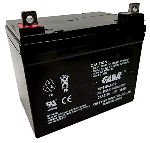 CASIL 12v 35ah for Deep Cycle AGM Solar Battery Replaces 35ah, 34A