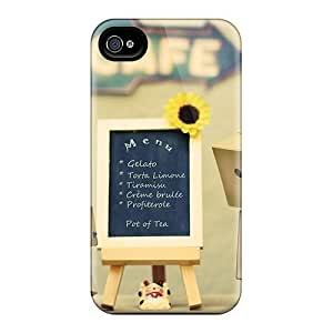 New Snap-on 6Plus Skin Case Cover Compatible With Iphone 4/4s- Danbo