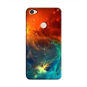 Cover It Up - Blue Vs Red space Cloud Redmi Y1 Hard case