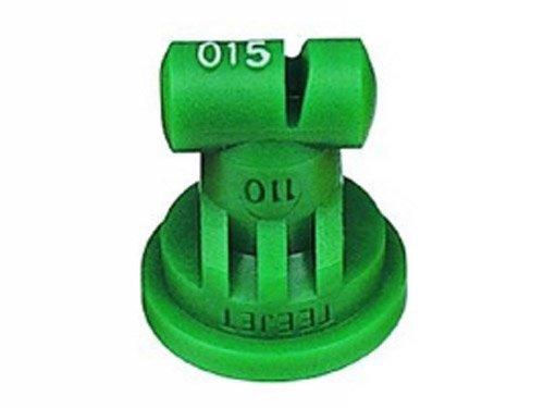 TeeJet TT110015-VP Turbo TeeJet Spray Tip, 0.092-0.23 GPM, 15-90 psi, Polymer - Green ()