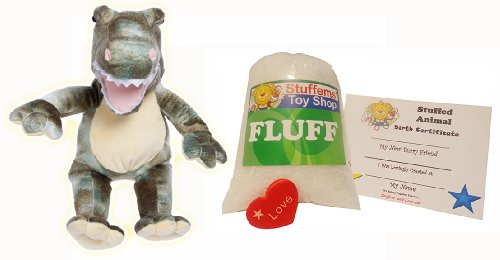 Make Your Own Stuffed Animal Mini 8 Inch Dyno Dinosaur Kit - No Sewing Required!
