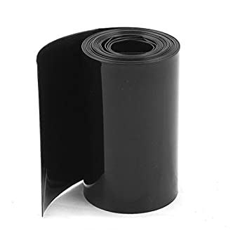 Uxcell PVC Heat Shrink Tubing Wrap, 2 m, 6.5 for 18650 Battery,